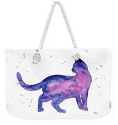 Cat In Space Weekender Tote Bag