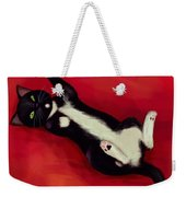 Cat N Weekender Tote Bag