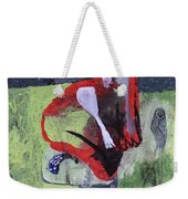 Cat With Other Garden Animals Weekender Tote Bag