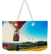 Catch Me If You Can. Weekender Tote Bag by Kendall McKernon