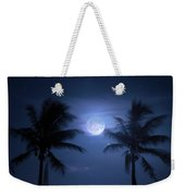 Catch The Moon Weekender Tote Bag