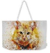 Cat's Eye Weekender Tote Bag