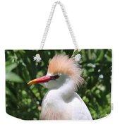 Cattle Egret Profile Weekender Tote Bag