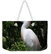 Cattle Egret With Breeding Feathers Weekender Tote Bag