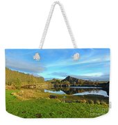 Cawfield Quarry And Hadrians Wall In Northumberland Weekender Tote Bag