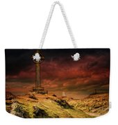 Celtic Cross Llanddwyn Island Weekender Tote Bag