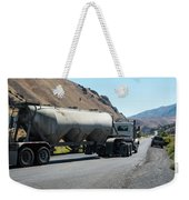 Cement Truck Turning Weekender Tote Bag