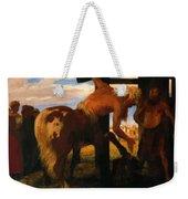 Centaur At The Village Blacksmith Shop 1888 Weekender Tote Bag