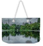 Central Park Reflections Weekender Tote Bag