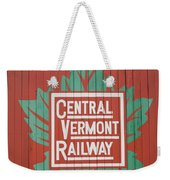 Central Vermont Railway Weekender Tote Bag