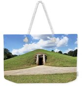 Indian Mound At Ocmulgee National Monument 1 Weekender Tote Bag
