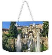 Fountain Of Neptune Weekender Tote Bag