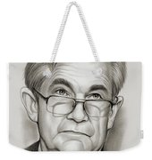 Chairman Powell Weekender Tote Bag