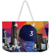 Chance Chicago Weekender Tote Bag