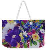 Scattered Flowers Sports Bag