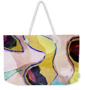 Chaotic Abstract Shapes Weekender Tote Bag