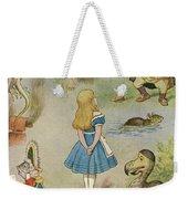 Characters From Alice In Wonderland  Weekender Tote Bag
