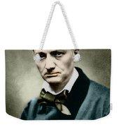 Charles Baudelaire, French Writer, Photo Weekender Tote Bag