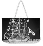 Charleston Ghost Ship Weekender Tote Bag
