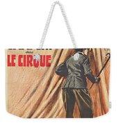 Charlie Chaplin Dans Le Cirque - Vintage Advertising Poster Weekender Tote Bag