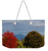 Charlotte Vermont View Of Camels Hump Weekender Tote Bag