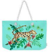 Cheetah's Hunt Weekender Tote Bag