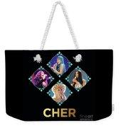 Cher - Blue Diamonds Weekender Tote Bag