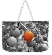 Cherry Tomatoes Partial Color Weekender Tote Bag