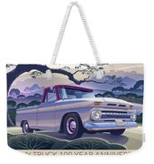 Chevy Truck Centennial 1964 Shortbed Custom Half Ton Weekender Tote Bag