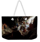 Chhungsi Cave From The Inside, Mustang Weekender Tote Bag