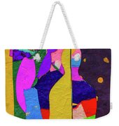 Chiang Mai Buddha Collage 3 Weekender Tote Bag