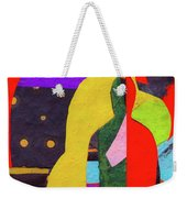 Chiang Mai Buddha Collage 5 Weekender Tote Bag
