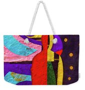 Chiang Mai Collage 12 Weekender Tote Bag