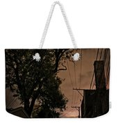 Chicago Alley At Night Weekender Tote Bag