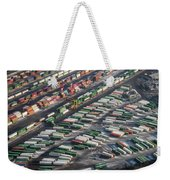 Chicago Railyards Weekender Tote Bag by Mary Lee Dereske
