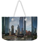 Chicago Skyline #1 Weekender Tote Bag