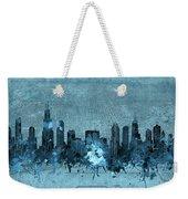 Chicago Skyline Vintage 4 Weekender Tote Bag