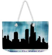 Chicago The Windy City Weekender Tote Bag