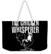 Chicken Whisperer Funny Farmer Weekender Tote Bag