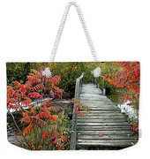 Chikanishing River Bridge Weekender Tote Bag
