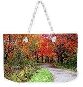 Chikanishing Road In Fall Weekender Tote Bag