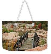Chikanishing Trail Boardwalk II Weekender Tote Bag