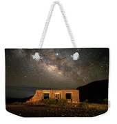 Chisos Mountain Homestead Under The Milky Way Weekender Tote Bag