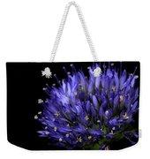 Chives Flower Weekender Tote Bag