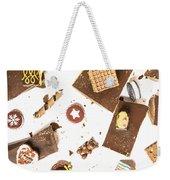 Chocolate Bar Break Weekender Tote Bag