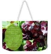 Chocolate Divine - Verse Weekender Tote Bag