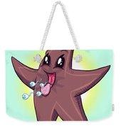 Chocolate Starfish Weekender Tote Bag