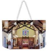Christ Episcopal Interior Weekender Tote Bag
