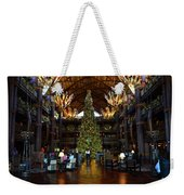 Christmas At The Ak Lodge Weekender Tote Bag
