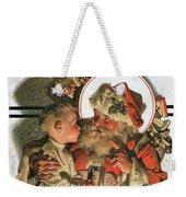 Christmas Eve - Digital Remastered Edition Weekender Tote Bag